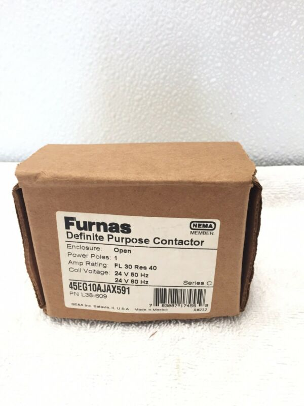 Furnas Definite Purpose Contactor 45EG10AJAX591