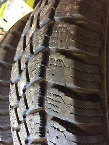 235/75/15 inch winter tires with lots of tread left