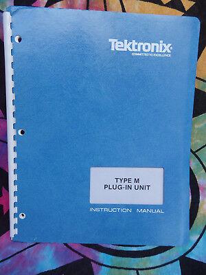 1 Tektronix Manual Type K M L Ca 7a19 1l20 067-0587-02 Tm504 7a26 465b 070-1472-