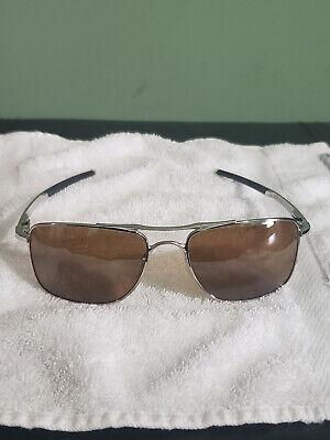 Oakley Gauge 8 M Sunglasses OO4124-0957 Polishd Chrome |Prizm Tungsten Polarized