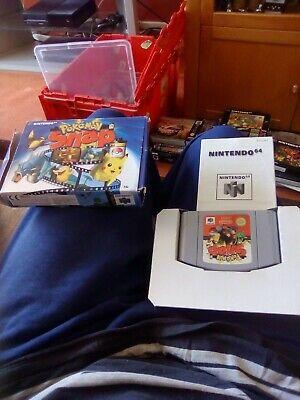 N64 Nintendo 64 Pal Boxed Game Cartridge Pak Pokemon Snap