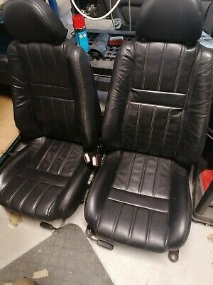 MGF/MGTF Black Leather Seats