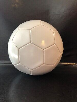 Cheap Soccer Ball (White Soccer Balls. Cheap. Packed Deflated. Sold In Qtys of 10. Comes with)
