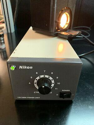 Nikon Psm-1120 12v 100w Dc Microscope Power Supply
