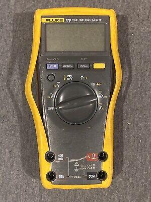 Fluke 179 True-rms Digital Multimeter - Yellowblack Broken As-is