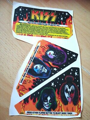 Kiss stern Pinball Decals Replacement