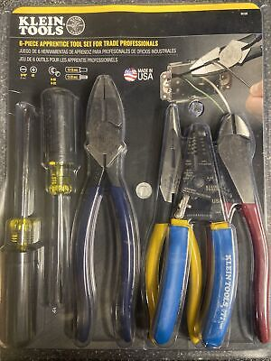 New Klein Tools 94126 6 -piece Tool Set For Trade Pro