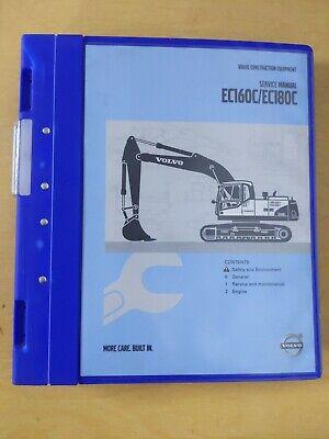 Volvo Construction Equipment Ec160cec180c Service Manual
