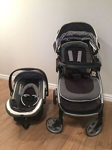 Safety 1st Step and Go stroller & car seat