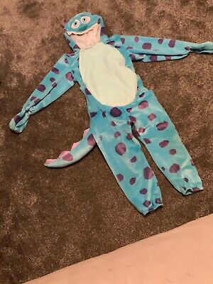 Disney Monsters Inc Sully Fancy Dress Age 5-6 Years