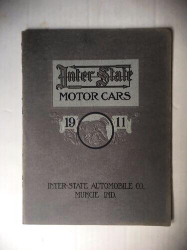 ORIGINAL 1911 INTER STATE MOTOR CARS CATALOG