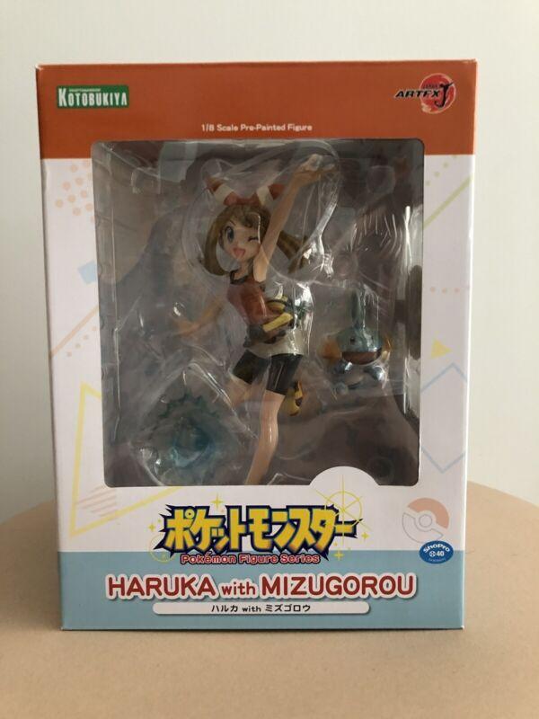 Pokemon May Maike Haruka Mudkip Hydropi Artfx J Figure Series 1/8 Kotobukiya