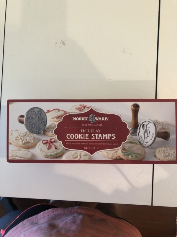 Nordic Ware Holiday Cookie Stamps