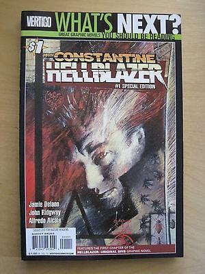 JOHN CONSTANTINE, HELLBLAZER 1 by DELANO & RIDGEWAY. Special Edition of 1988 # 1