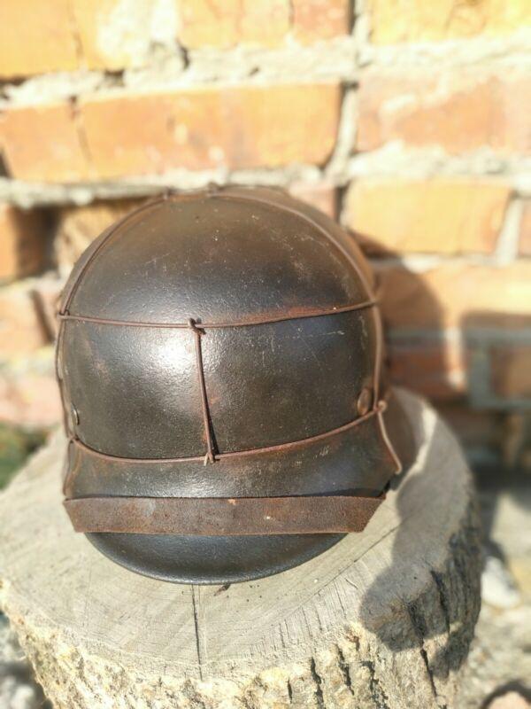 WW2 M40 German  Helmet WWII M 40. Combat helmet.