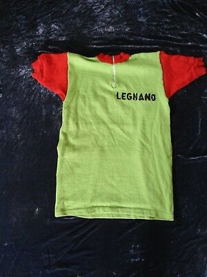 Legnano Pirelli original vintage wool jersey made by Sergal