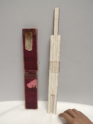 SLIDE RULE (CALCULATOR) Simplon Bilateral { Log-Log } A1 Condition