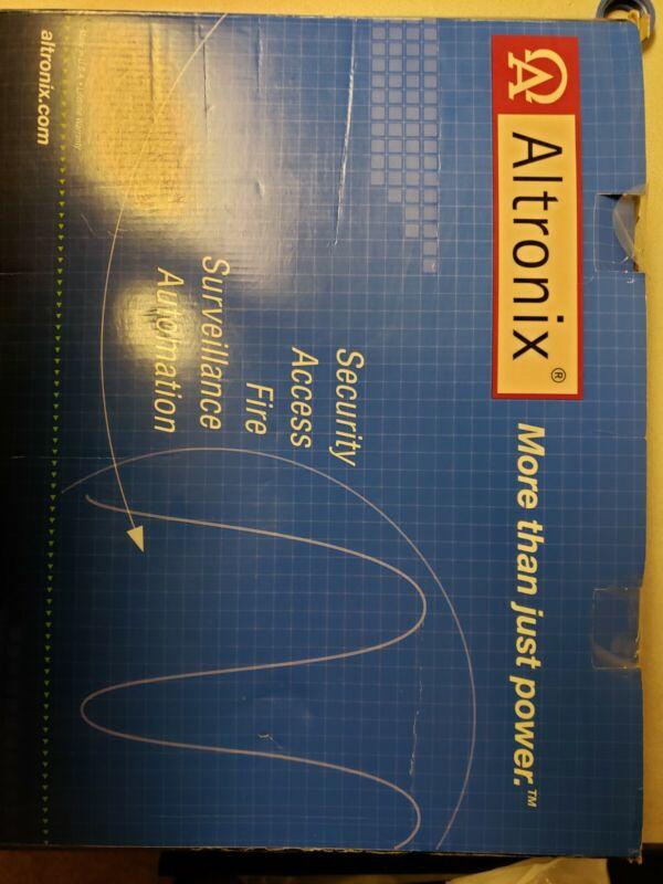 Altronix AL602ULADA NAC Power Supply, 2 Class A or 4 Class B, 24VDC 115VAC, Red