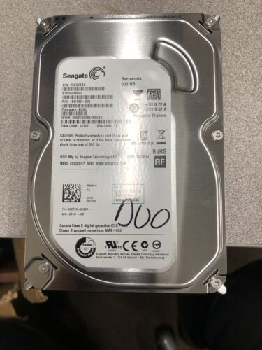 Seagate ST500DM002 500GB 7.2K 6G 16MB 3.5in SATA Desktop Hard Drive NEW HDD - $14.00