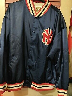 Mitchell Ness 1950 New York Yankees World Series Jacket Size 60-4XL Authentic