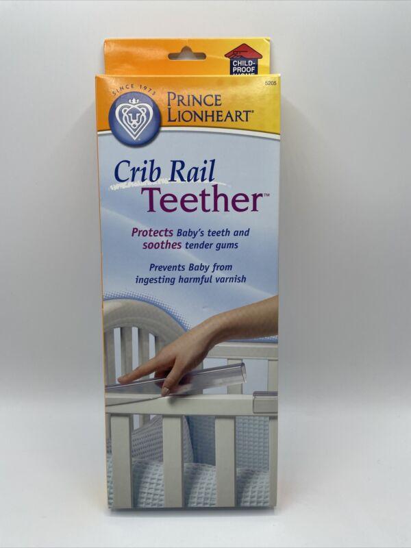 Prince Lionheart Crib Rail Teether Teething Gaurd Protector Clear 4 12in Pieces