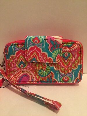 VERA BRADLEY Smartphone Wristlet for iphone 6 Paisley in Dreamland-NWT