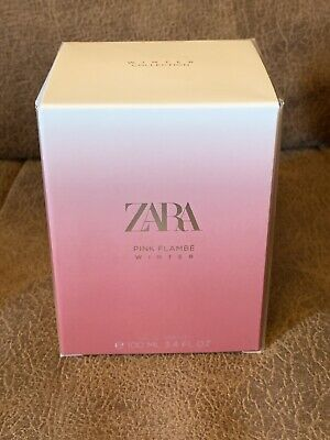 ZARA WOMAN PINK FLAMBÉ Winter EAU DE TOILETTE FRAGRANCE PERFUME 100ML BNIB