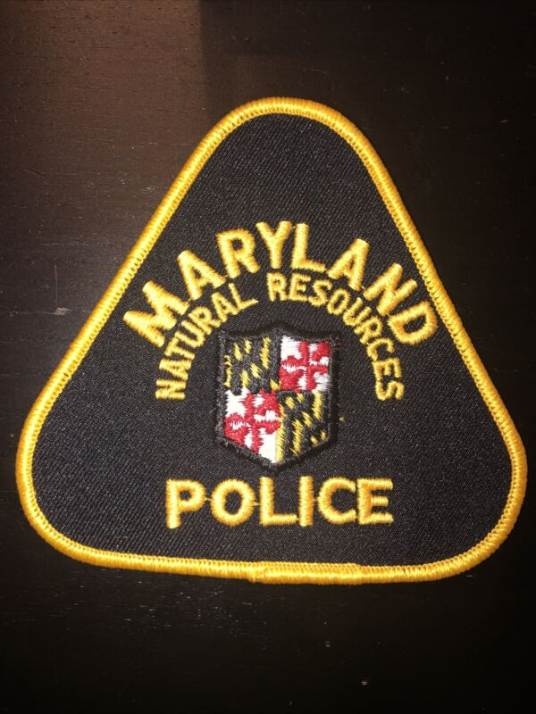 Maryland Natural Resources Police Department Patch