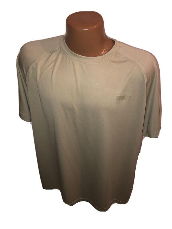 BSA Boy Scouts Adult Khaki Athletic Tee T Shirt Size L Large
