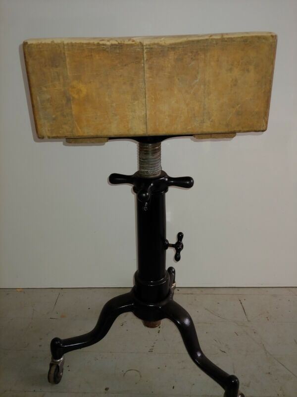 Antique Satellite adjustable typewriter table