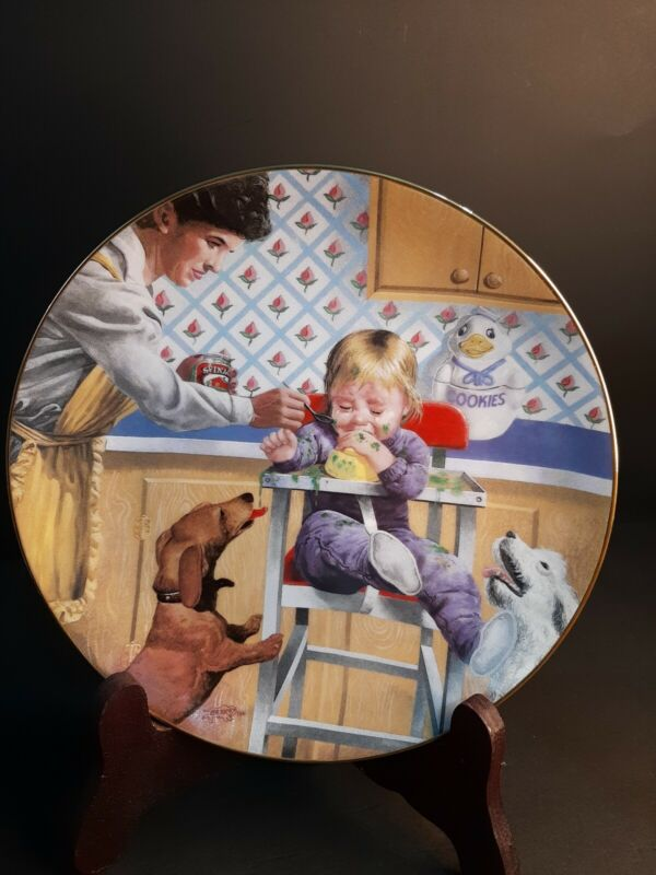 1987 Collectors Plate Cruel And Unusual Punishment By Don Crook
