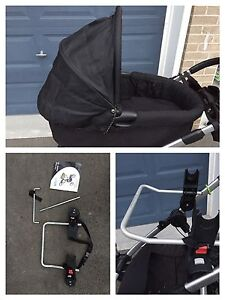 Baby Jogger City Select bassinet and car seat adaptor