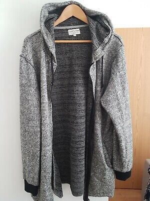 Just Junkies Fleeced Hoodie size L over-long/size