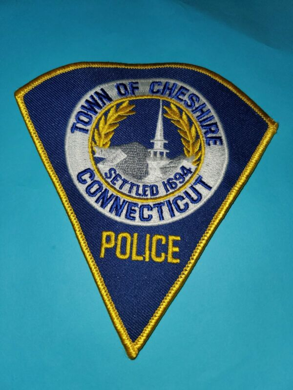 Cheshire Connecticut Police Patch