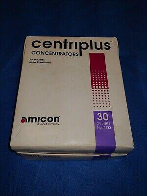 Amicon Centriplus Concentrators 30 No. 4422 15ml Max Volume 18 Units In Box