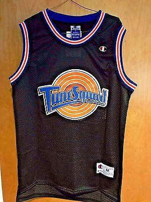 Michael Jordan #23 Space Jam Tune Squad Basketball Jersey Black S M L XL XXL