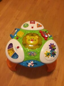 Jungle theme baby/toddler stand up play station