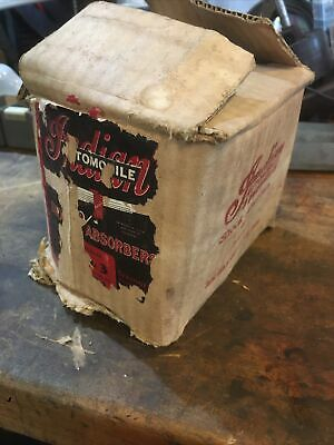Original Indian Automobile Shock Absorbers BARN FRESH! Nos!! With Box And Paper