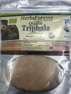Triphala Churna (Bulk Herbs Mix Powder) (Dietary Supplement) 16 oz, 454 gm for sale  Shipping to South Africa