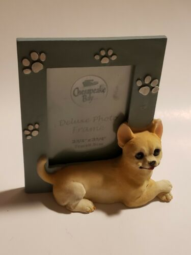 Cute adorable 3D chihuahua picture frame: 5 inches