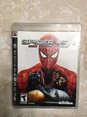 Spider-Man: Web of Shadows (PS3 2008) FACTORY SEALED! - RARE! CHEAPEST ON EBAY