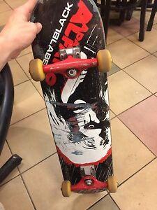 Black label skateboard