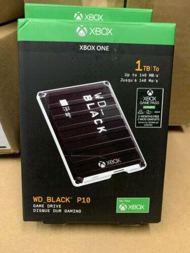OB Western Digital WD Black P10 Game Drive for Xbox One 1TB