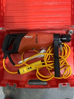 Hilti Dd 110-w Corded Electric Diamond Coring Core Drill In Case