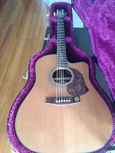 "Maton ER90C Electric Acoustic guitar 2012 model ""AS NEW"" Miranda Sutherland Area Preview"