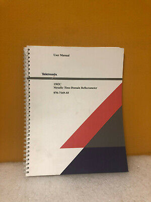 Tektronix 070-7169-03 1502c Metallic Time Domain Reflectometer Operator Manual