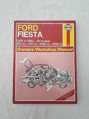 Haynes Manual Ford Fiesta 1976 - 1983 All Models