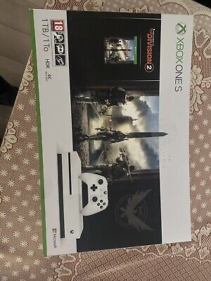 Xbox One S 1TB Tom Clancy's The Division 2 Console Bundle