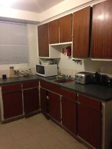 Large 2 1/2 apartment, parc extension, Montreal, l'acadie