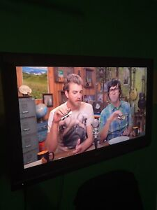 Television with Wall Mount